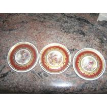 Mini Pratos De Porcelana Schmidt Dp