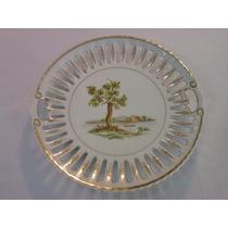 Prato Decorativo - Porcelana Schimidt. Grande.