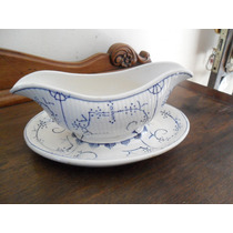 Antiga Molheira Em Porcelana Boch La Louviere Belga