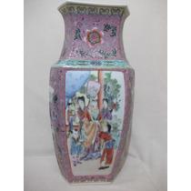 B. Antigo- Vaso Em Porcelana Chinesa Formato Super Diferente