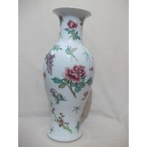 B. Antigo - Suntuoso Vaso Em Porcelana Chinesa