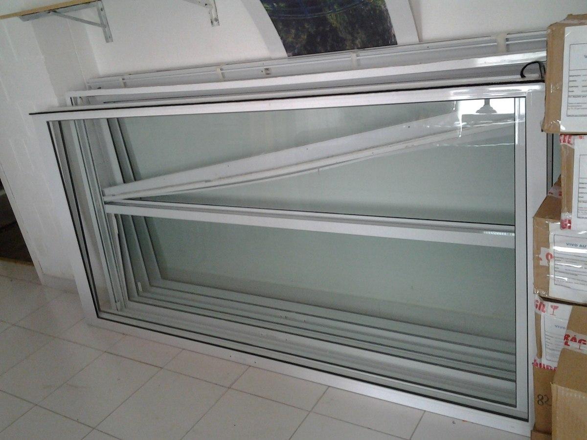 Porta Balc O Com Vidro Alum Nio Branco O Par R 100 00