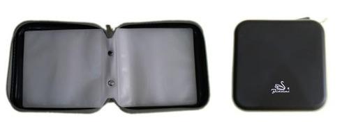 Porta Cd Dvd P/ 40 Unidades Jiadai Case Plástico Resistente