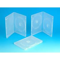 Capinhas P/ Dvd Box Caixa Com 100 Capa Dvd Transparente