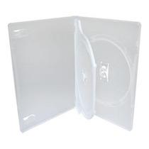 Estojo Capa Dvd Box Amaray Duplo Transparente C/100 Pç Novo