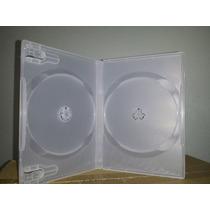 100 Box Duplo Transp, Grosso Melhor Que Amaray ) Ver Frete