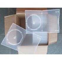 Capa Dvd / Box Simples / Transp / 50 Und / Melhor Preço!