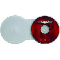 5 Box Estojo Case Redondo Dvd/cd Capa Transparente Proteção