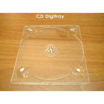 Capa Digitray Cd Simples Transparente C/20 Unidades