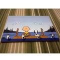 Porta Chave Placa Decorativa Desenho Snoopy Charlie Brown