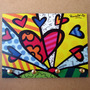 Porta Chave Placa Romero Britto Pop Art Quadro A New Day