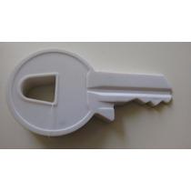 Protetor Prendedor Peso Segura Porta Divertido Chave- Branco