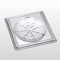 Grelha Para Ralo Em Inox 15x15 Com Caixilho Meber