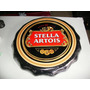 Placa Decorativa Tampa De Garrafa Stella Artois1 Em Ceramica