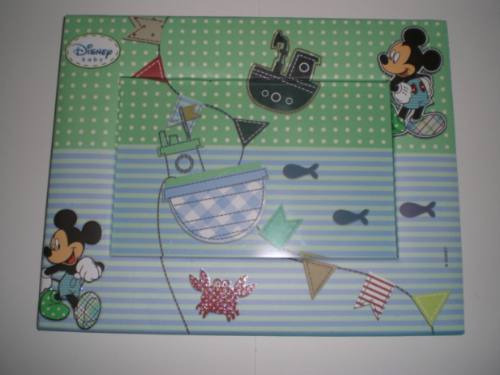 Porta-retrato Disney Mickey Baby - Mks Presentes