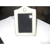 Porta Retrato Antigo Aluminio