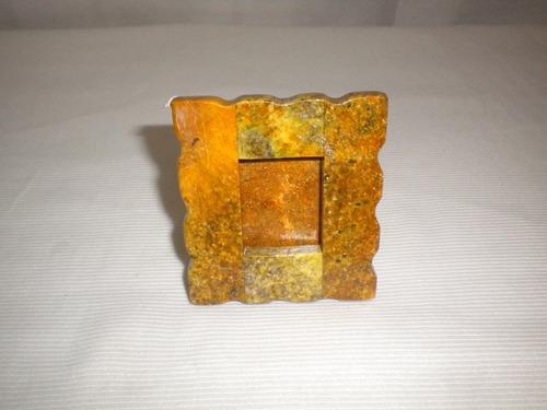 Porta Retratos Em Pedra Sabão 7,5x6cm