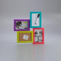 Porta Retratos Ou Quadro De Recados Varias Fotos - 4086