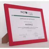 Porta Retrato De Madeira 2a - Com Foto 20x30/ A4