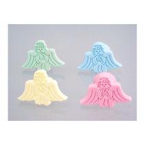 4 Puxadores Para Guarda Roupa Infantil (anjo) Varias Cores