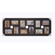 Quadro Painel Mural Porta Retrato 12 Fotos + Frete Gratis