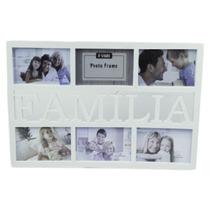 Porta Retrato De Parede Familia Painel 6 Fotos 10x15 7203