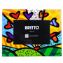 Porta-retrato A New Day - Romero Britto - Em Vidro