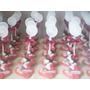 10 Lembrancinhas Minnie Baby Porta Recado Em Biscuit