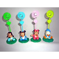 10 Lembrancinhas Turma Do Mickey Em Biscuit Baby Disney