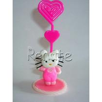 20 Lembrancinhas Hello Kitty Porta Recado/retrato Em Biscuit