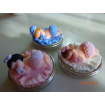 Lembrancinhas Maternidade E Cha De Bebe Biscuit Na Latinha