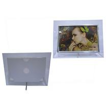 Lindo Porta Retrato De Vidro Vertical E Horizontal 10x15 Cm