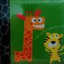 Album Infatil 500 Fotos 10 X 15 Tigrinho E Girafinha