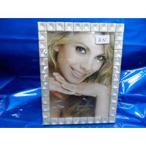 Porta Retrato Vidro Lembra Perola P/ 1foto 13 X 18 Ou 18 X13