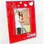 Porta Retrato De Vidro - 10x15 Vertical - Amor