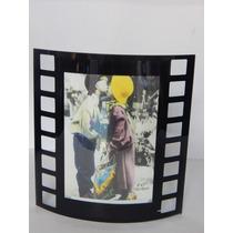 Porta Retrato De Vidro Curvo Tipo Filme - Vertical 13x18