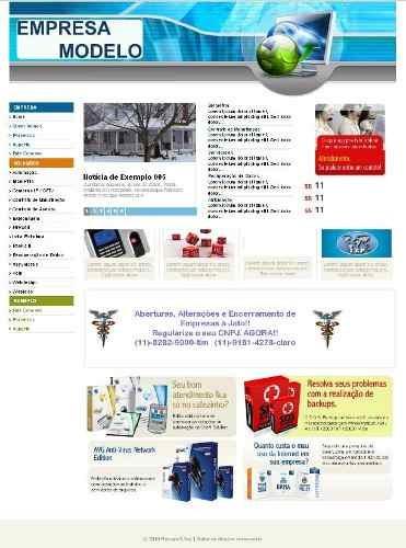 Portal Empresa Dinamico Php Script Site Empresas 3 Sistemas