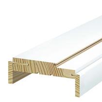 Batente De Madeira Regulável Famossul Primer 22cm Branco