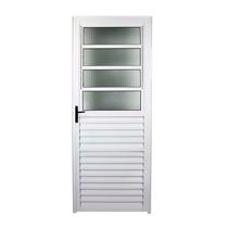 Porta Basculante Alumínio Brilhante 210x80 Esquerda