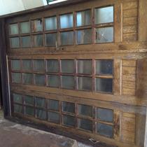 Porta-janela Em Jatobá 2,10 X 1,55