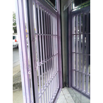 Porta De Vidro Temperado + Grade