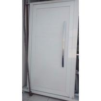 Porta Pivotante Alumínio Branco Gs150mm