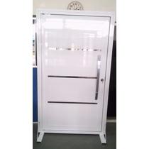 Porta Pivotante De Aluminio 2100x100 Ou Sob Medida