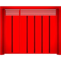 Portão Basculante Padrão Com Porta Social Embutida 300x240