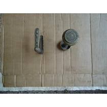 Maçanetas De Porta (casa)antigas De Bronze