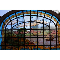 Vitral Art Nouveau Casa Conrado
