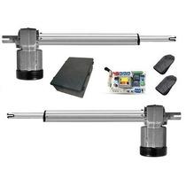 Kit Motor Para Portão Eletrônico Pivotante Duplo Piston Ppa