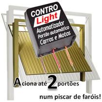 Controle 2x1 Portão Farol Carros Motos Frete Grátis 3 Peças