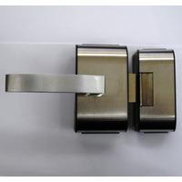 Fechadura Eletrica Para Vidro Hdl Pv90 2r Folha Com Recorte