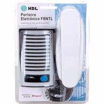 Interfone Hdl Porteiro F-8 + Monofone Az01 Suprema Segurança
